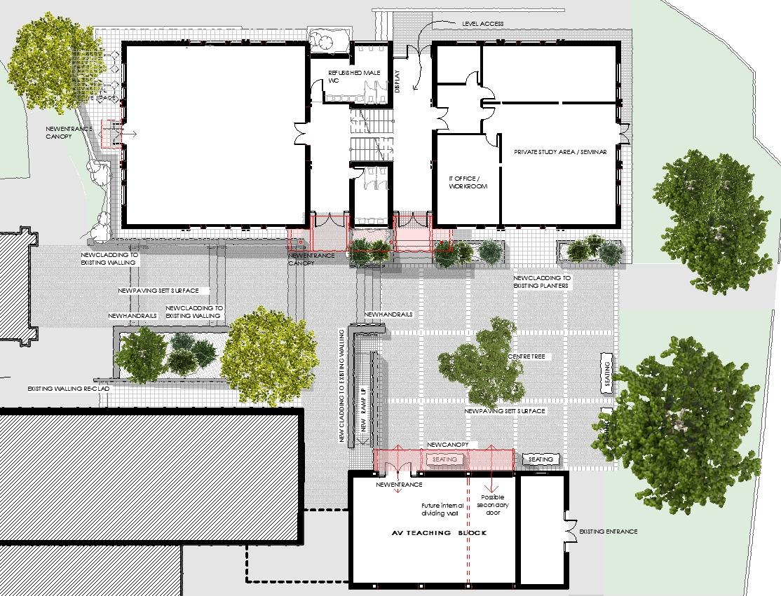 Plan Showing Proposed Layout